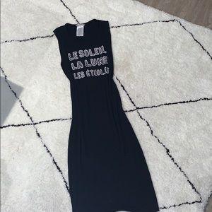 BCBGENERATION Black Midi dress